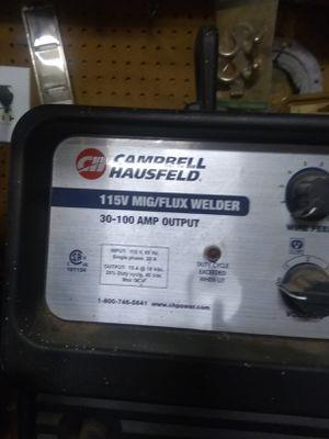 Campbell hausfeld welder 115v flux welder 30 100amp output for Sale in Rosenberg, TX