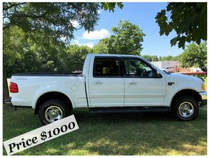 $Selling my 02 Ford F-150 Runs and drives great! Clean title in hand for Sale in Washington, DC