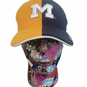 Michigan Wolverines Split Color Baseball Hat for Sale in Beaverton, OR