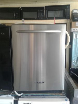 Stainless steel KitchenAid dishwasher for Sale in Tampa, FL