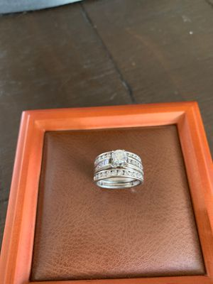 Wedding ring and band for Sale in Pittsburgh, PA