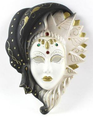 Art Deco Lady Fortune Teller Style Mask Wall Decor *Home Decor* for Sale in New Port Richey, FL