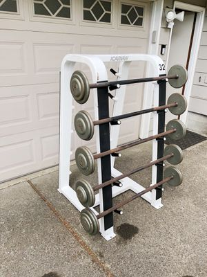 "IVANKO Strait Barbell Set Of 5, ""Very Nice""💪🏼 for Sale in Portland, OR"