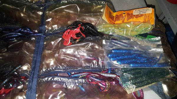 An I sorted of fishing lures no hooks new