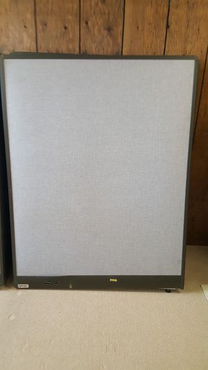 Hoover 4 foot by 56 in tall office partitions for Sale in Fremont, OH