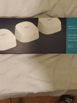 eero 6 Dual Band Mesh WI-FI System (New) for Sale in Upland,  CA