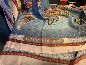 Auth LOUIS VUITTON World Map Silk Scarf Shawl for Sale in Los Angeles, CA