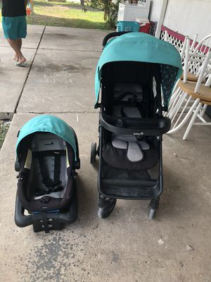 Baby stroller with car seat for Sale in Brownsville, TX