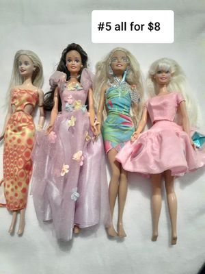 #5 BARBIE ALL FOR $8 for Sale in Las Vegas, NV