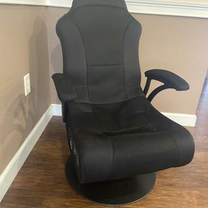 X Rocker X-Pro 300 Black Pedestal Gaming Chair Rocker with Built-in Speakers And Bluetooth for Sale in Winter Haven, FL