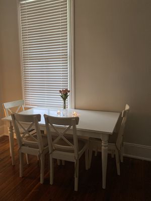 Dining Table with four chairs for Sale in Huber, GA