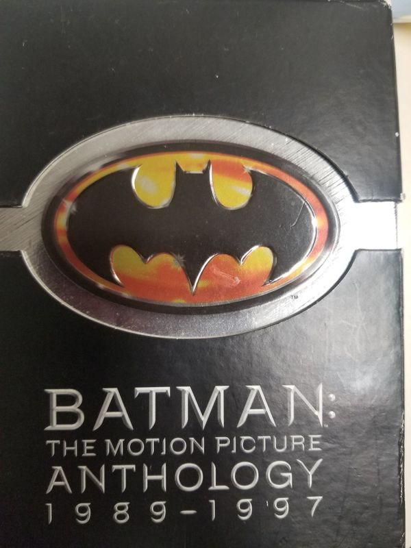 BATMAN 1989- 1997 DVD'S 8 total