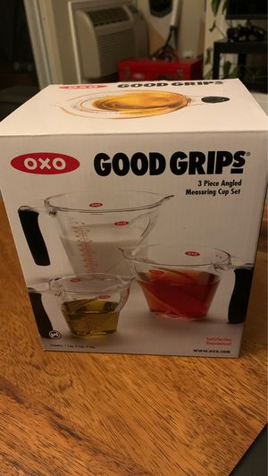 NEW Oxo 3 Piece Measuring Cup Set for Sale in Sunnyvale, CA