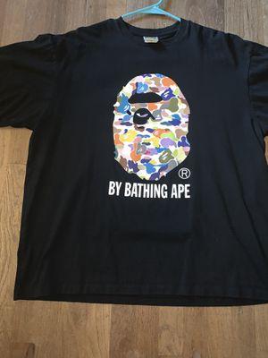 A BATHING APE BAPE MULTI CAMO TEE SHIRT for Sale in Beaverton, OR