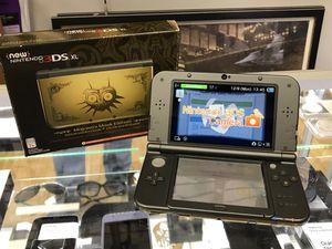 NEW NINTENDO 3DS XL Gold Zelda Majora's Edition for Sale in Framingham, MA