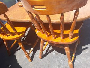 Table and chairs 45 for Sale in Manassas Park, VA