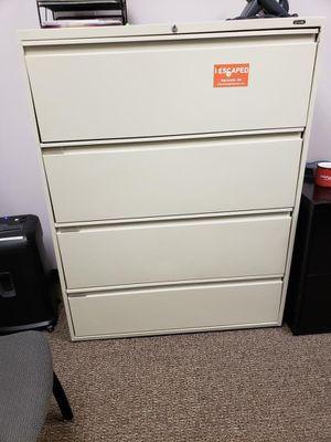 White Filing Cabinet for Sale in Atlanta, GA