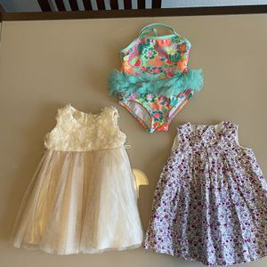 2 dresses warm swimming suit 🌺 for Sale in Fairfield, CA