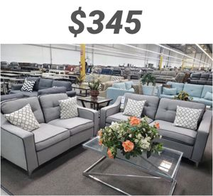 2pcs sofa set loveseat and sofa for Sale in Downey, CA