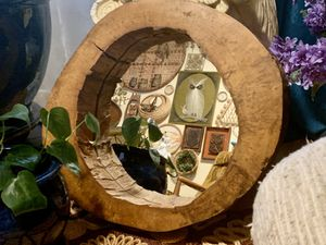 Live edge style wall hanging Mirror for Sale in North Bend, WA