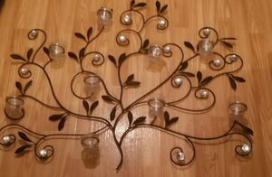 Wall decor with candle holders for Sale in Murfreesboro, TN