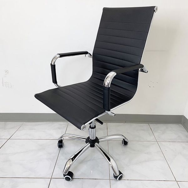 $85 (new in box) ergonomic computer chair pu leather swivel adjustable recline for home office
