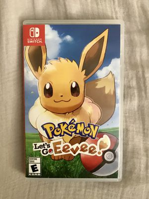 Nintendo Switch Lets Go Eevee for Sale in San Diego, CA