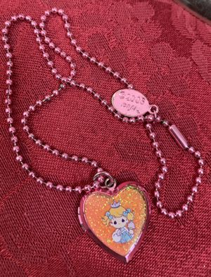 Vintage Precious Moments Heart Photo Pendant Keep Sakes for Sale in Centennial, CO