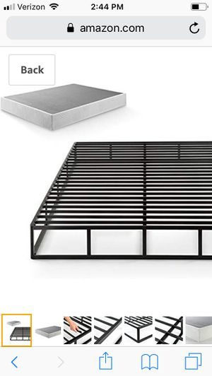 California King Metal Bed Frame for Sale in Queen Creek, AZ