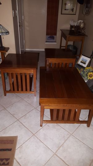 Mission Oak Tables for Sale in Peoria, AZ