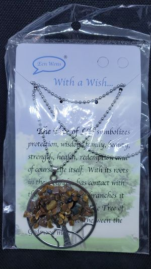 Tree of life necklace women's fashion jewelry for Sale in IND HEAD PARK, IL