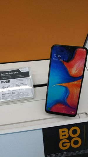 GET 2 GALAXY A20! FREE WHEN YOU SWITCH AND BOGO! COME SEE US AT BOOST MOBILE ON 50TH AND AVE L! for Sale in Lubbock, TX