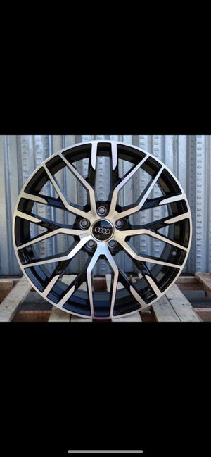 """Audi 18"""" new rs style rims tires set for Sale in Hayward, CA"""