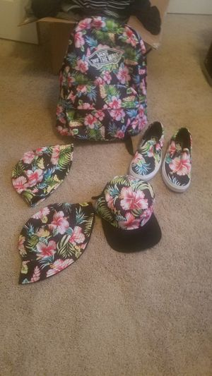 Vans shoes back back and hats for Sale in Surprise, AZ