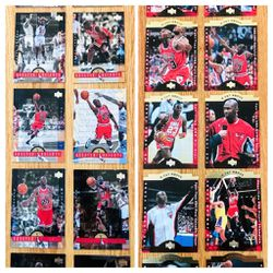 1996 Upper Deck Michael Jordan Jumbo Basketball Card Sets for Sale in Chicago, IL