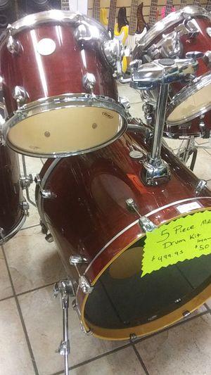 5 piece drum set for Sale in Tucson, AZ