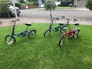 Foldable bikes for Sale in Forest Grove, OR