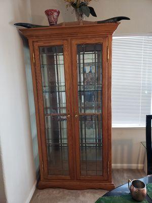 Custom Oak Cabinet for Sale in Hayward, CA