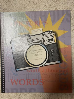 Photo themed picture binder for Sale in Metamora, IL