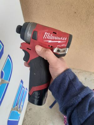 Milwaukee M12 Driver for Sale in Mansfield, TX