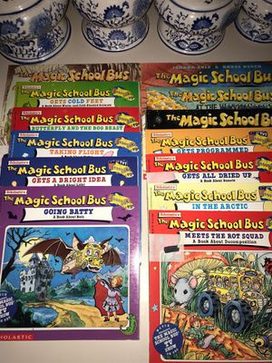 Popular Kids Book Collection ~Magic School Bus for Sale in Arlington, TX