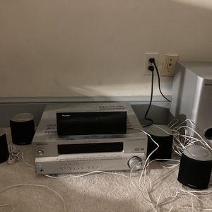 Pioneer Surround Sound Stereo & Dvd Player for Sale in Vienna, VA