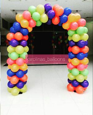 Balloon arch 🎈🏃♀️ /arco de globos y más for Sale in Corona, CA