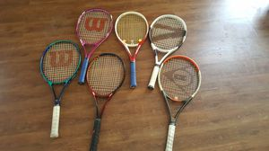 Assortment of Tennis Rackets for Sale in DeSoto, TX
