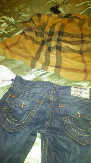 Burberry shirt and two pairs of trues for Sale in Milwaukee, WI