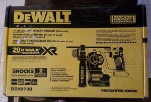 "DEWALT 20V MAX Li-Ion BL SDS 3-Mode 1"" Rotary Hammer (Bare) DCH273B New for Sale in St. Petersburg, FL"