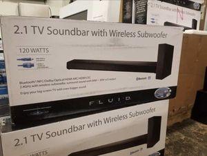 SOUNDBAR 2.1 120 WATTS FLUID for Sale in Schaumburg, IL
