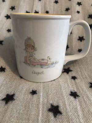 Precious moments 1988 August coffee mug for Sale in Stockton, CA