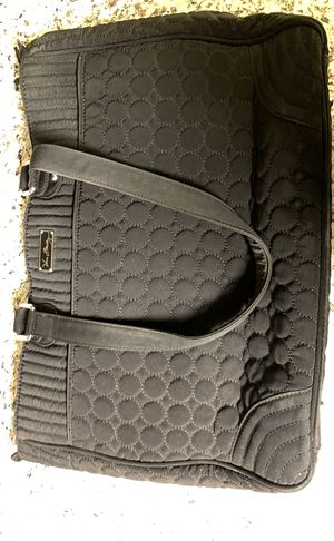 Vera Bradley Work Tote Handbag Satchel in Classic Black for Sale in San Diego, CA