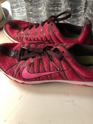 Women's cross country shoes, size 7 Nike excellent condition! for Sale in Houston, TX